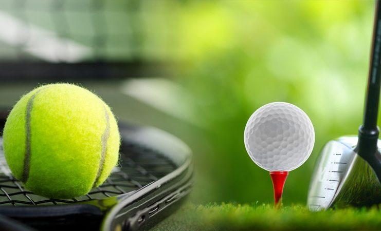 Tenis y golf